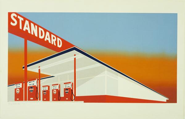 Ed Ruscha Standard Station 1966