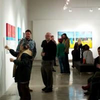 art opening reception critique show