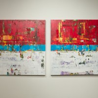 shawn mcnulty folly diptych gallery show