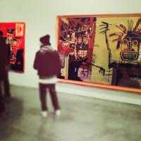 basquiat show nyc gagsoian polarized image
