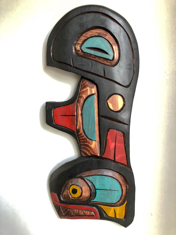 Vancouver Island Carving Modern Sculpture
