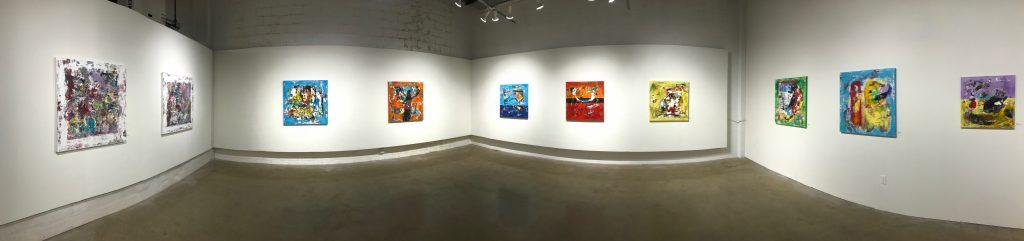 Art Gallery Panorama Image