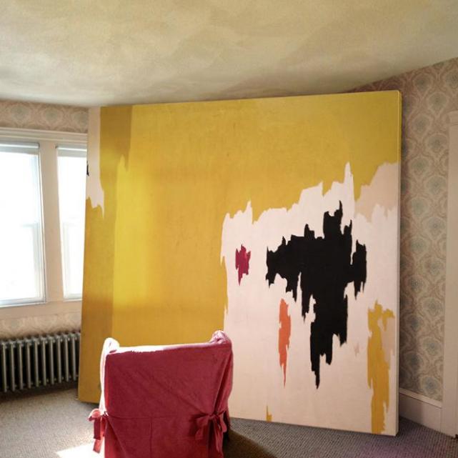 Great Art Ugly Rooms Clyfford Still