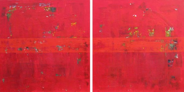 Trust Elvis Costello Red Shoes Painting