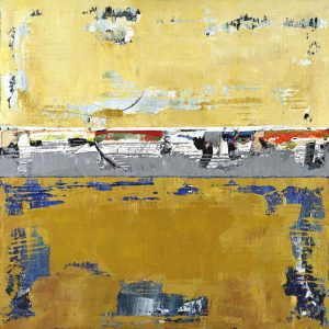 Tupelo Ochre Yellow Abstract