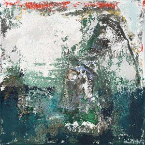 Osprey Bird Nest Abstract Painting