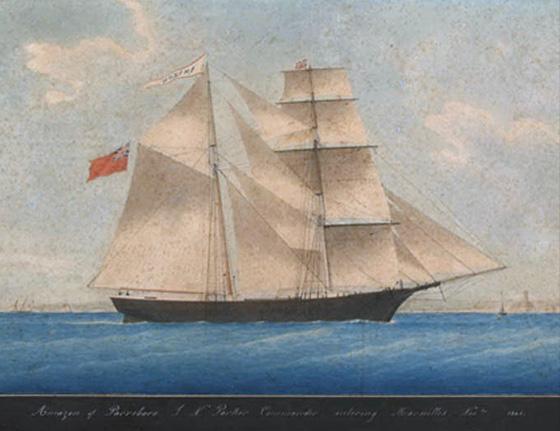 Mary Celeste Painting
