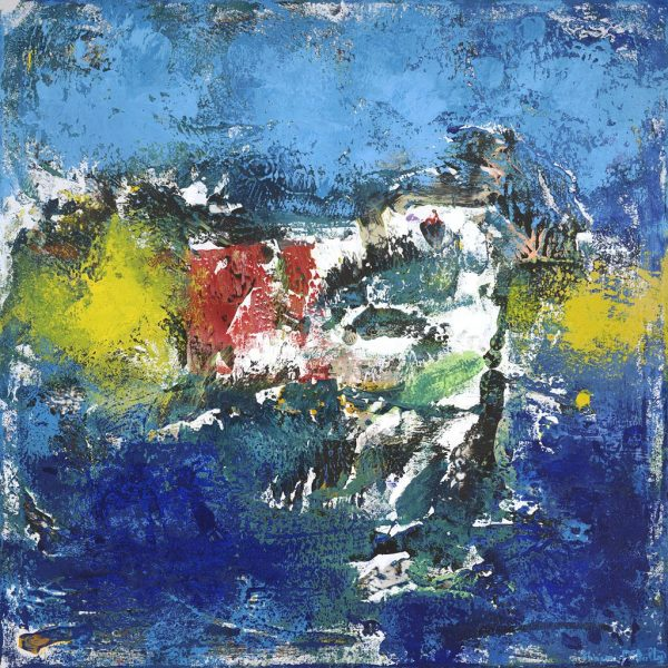 Restoration Medtronic Art Collection Abstract Painting