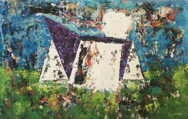 Stadium 2 Minnesota Vikings Art Collection Painting