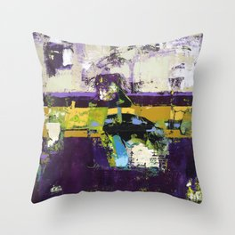 Controversy Prince Deep Purple Abstract Painting Modern Art Pillows